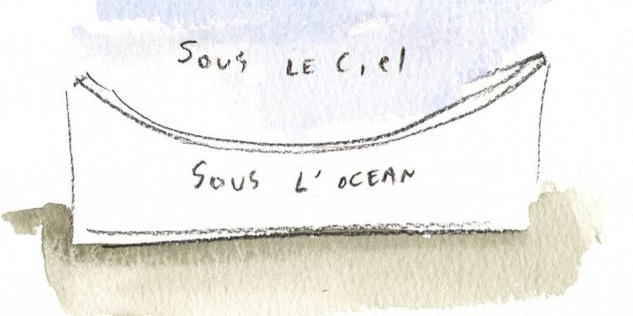 Sous le ciel, sous l'océan