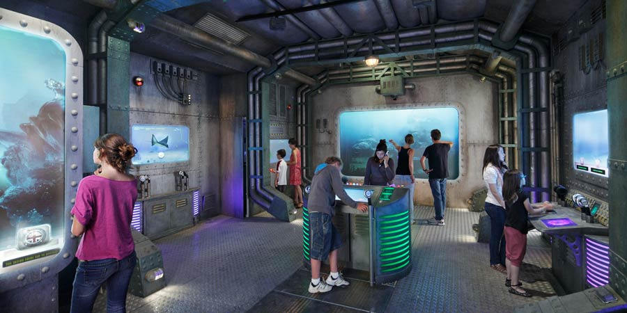 El Océano tiene un cuerpo : la base submarina