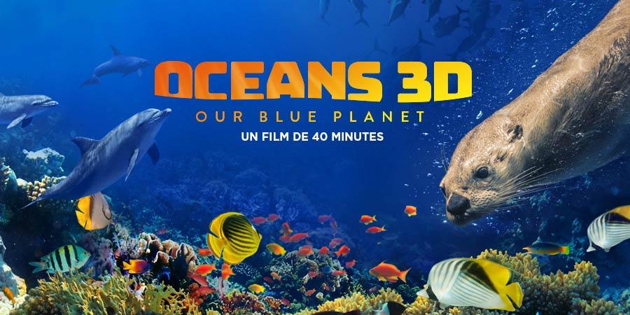 Océano 3D, nuestro planeta azul