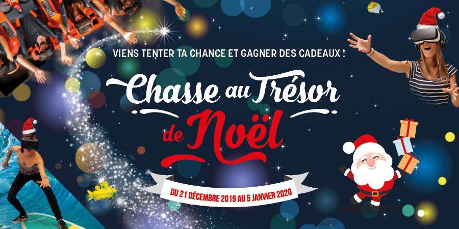 Chasse au trésor de Noël à la Cité de l'Océan !
